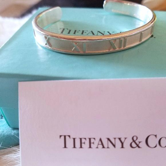 06ff12066 Tiffany & Co. Jewelry | Tiffany Co Atlas Sterling Silver Cuff ...